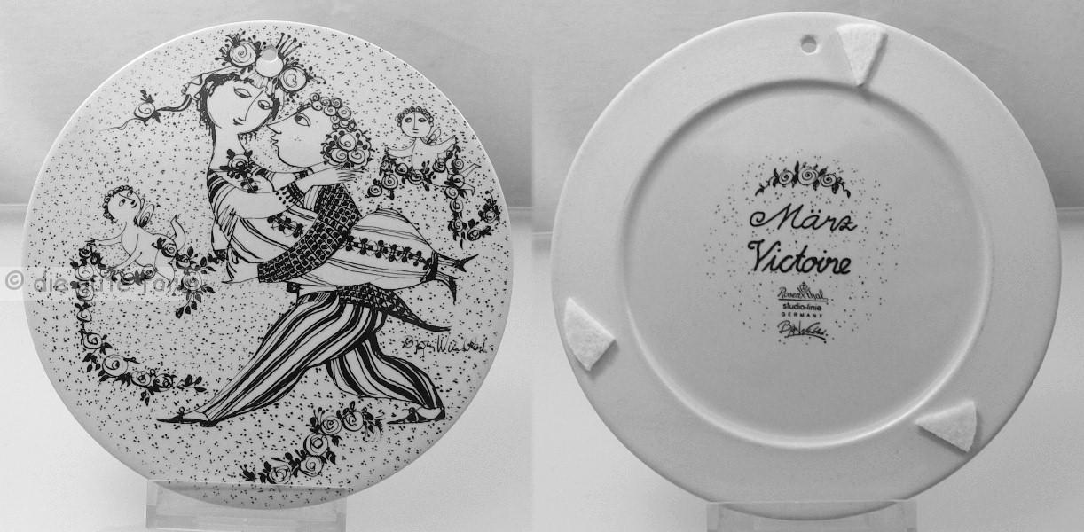 rosenthal porzellan serie das jahr monatsteller zum aussuchen wandteller ebay